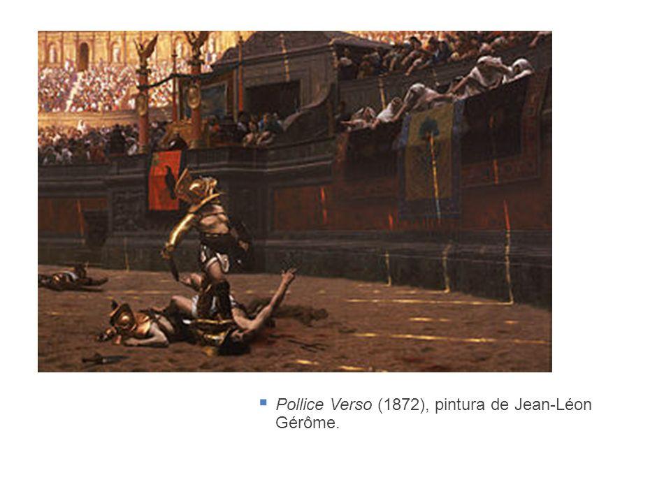 Pollice Verso (1872), pintura de Jean-Léon Gérôme.
