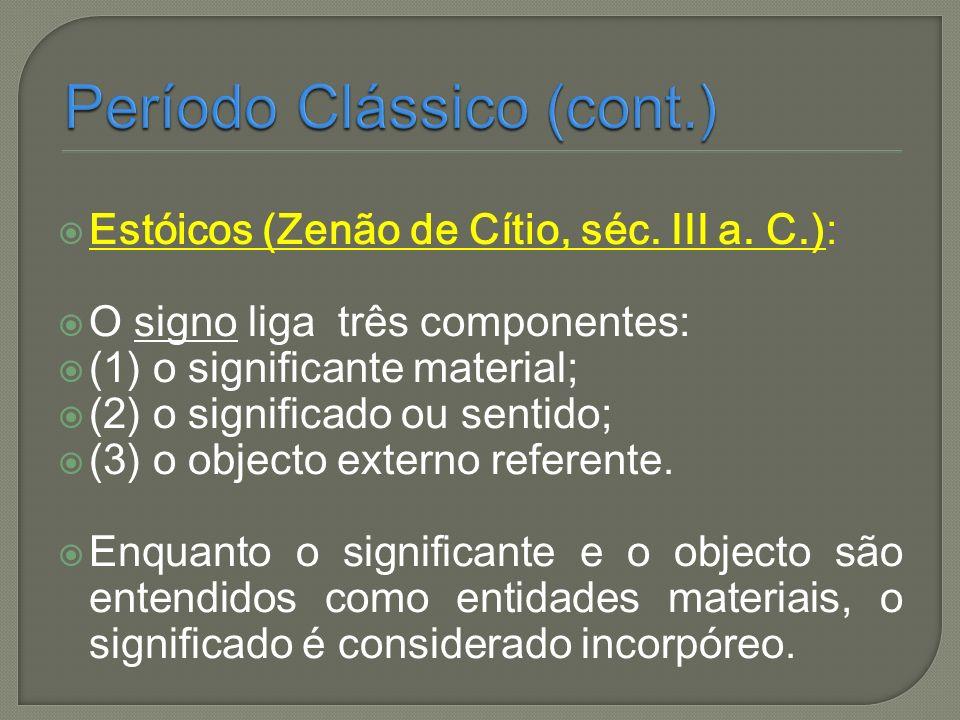 Período Clássico (cont.)