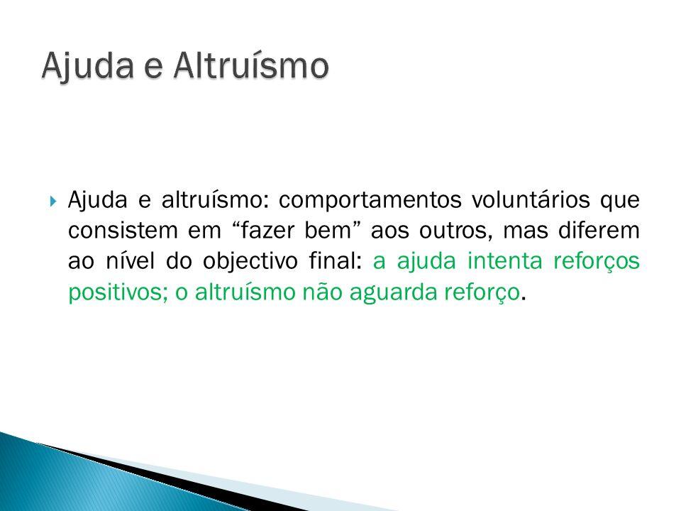 Ajuda e Altruísmo