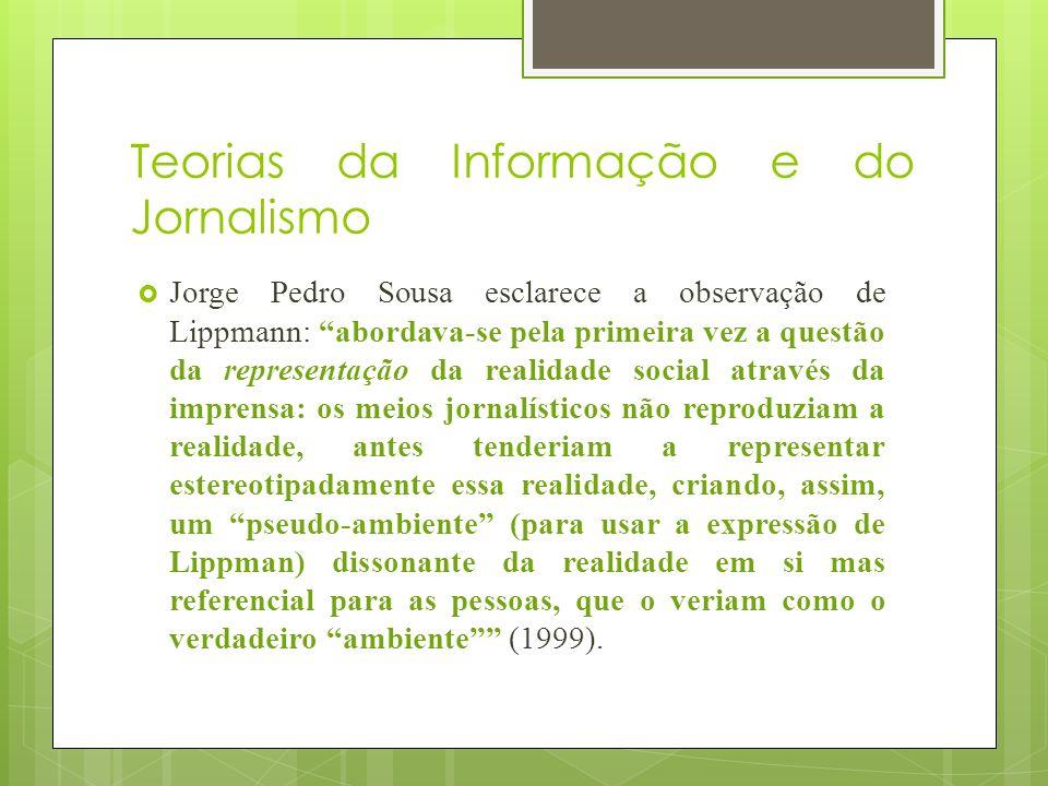 Teorias da Informação e do Jornalismo