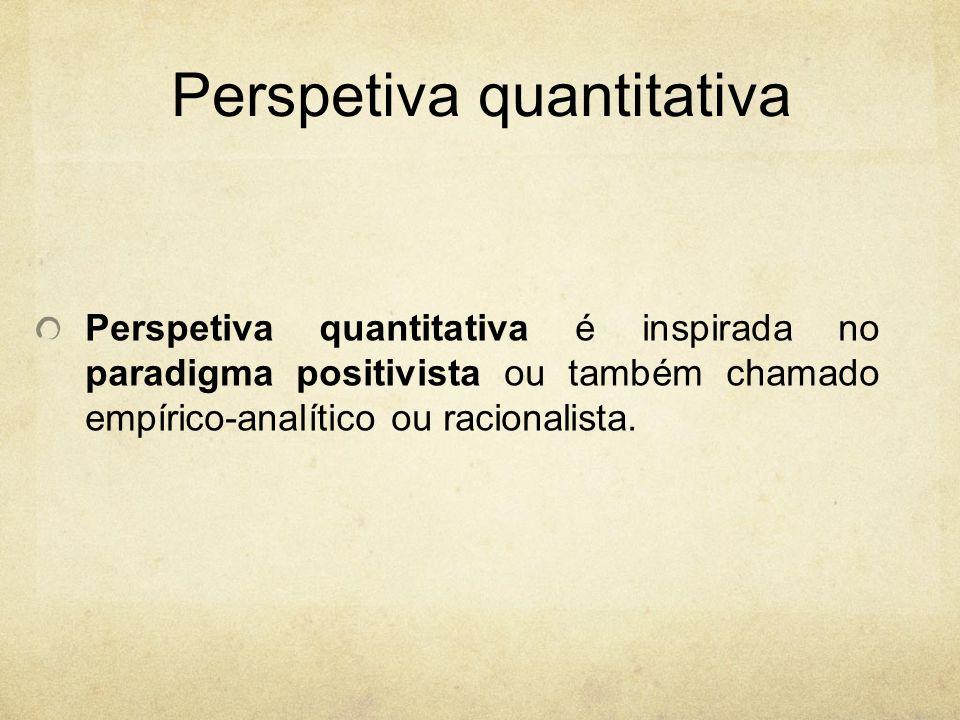 Perspetiva quantitativa