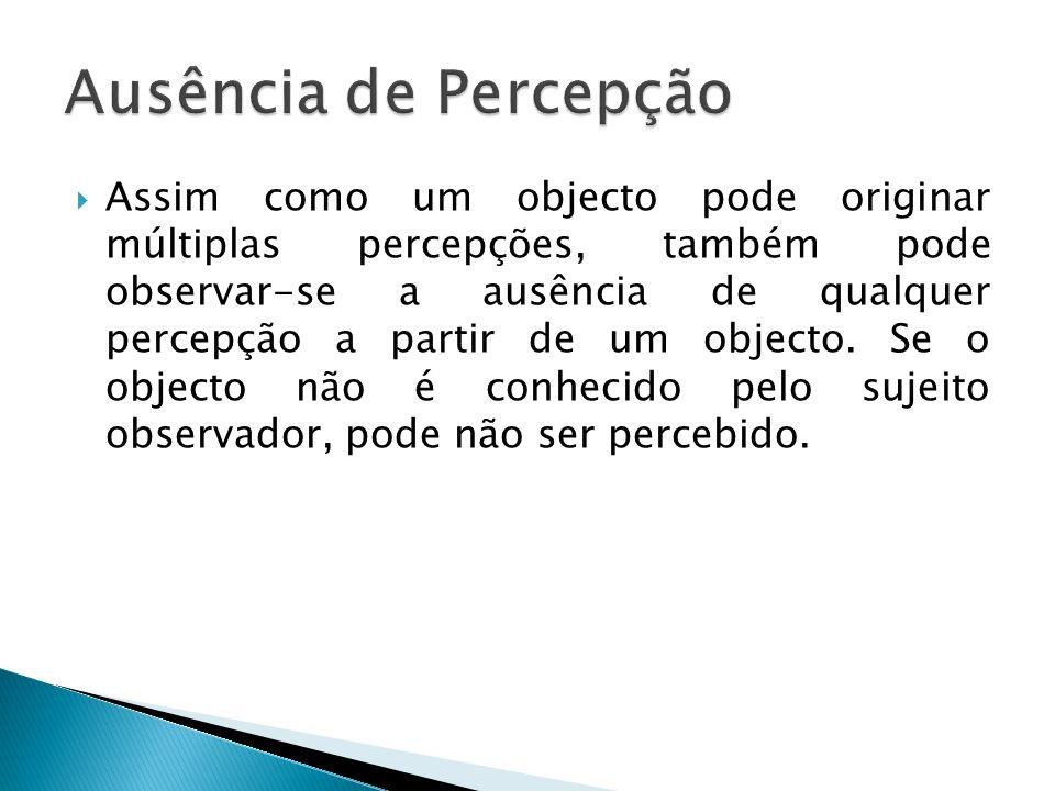 Ausência de Percepção