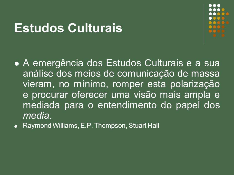 Estudos Culturais