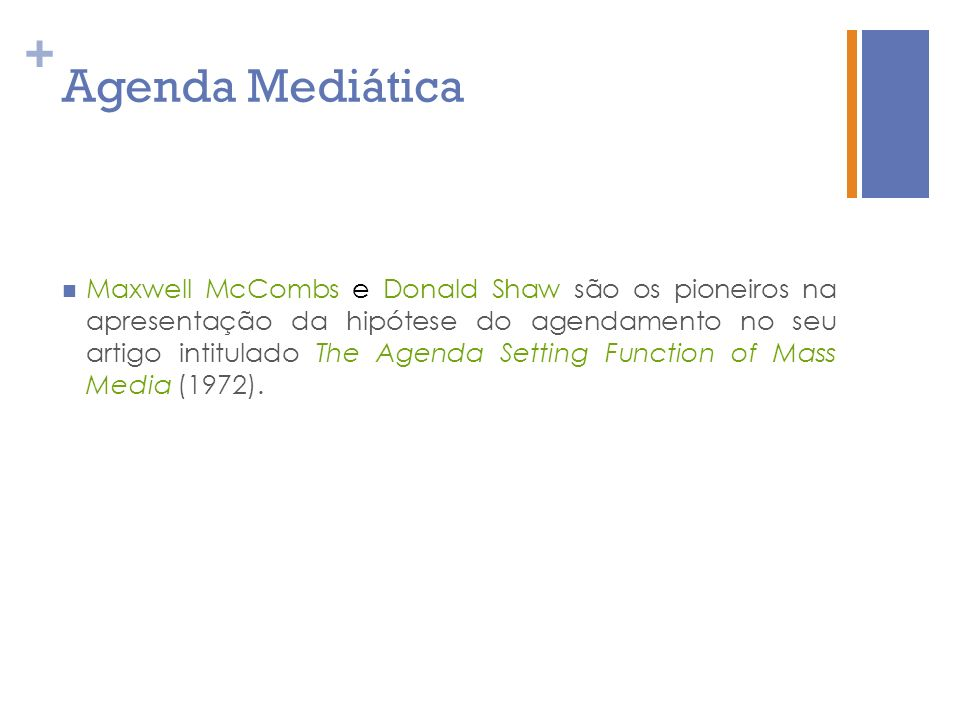 Agenda Mediática