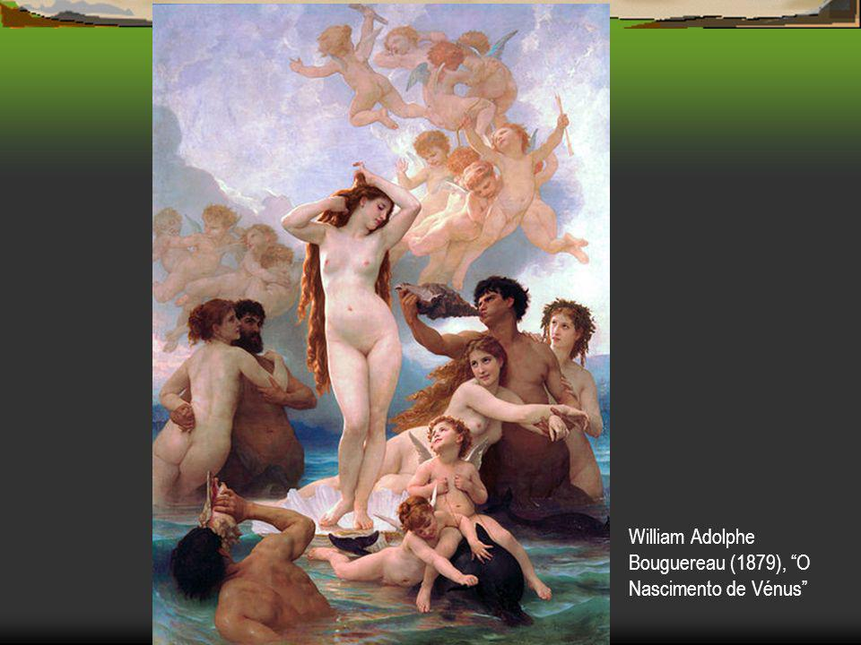 William Adolphe Bouguereau (1879), O Nascimento de Vénus