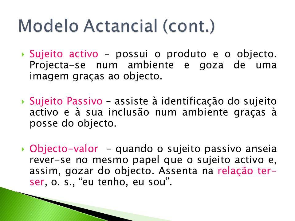 Modelo Actancial (cont.)