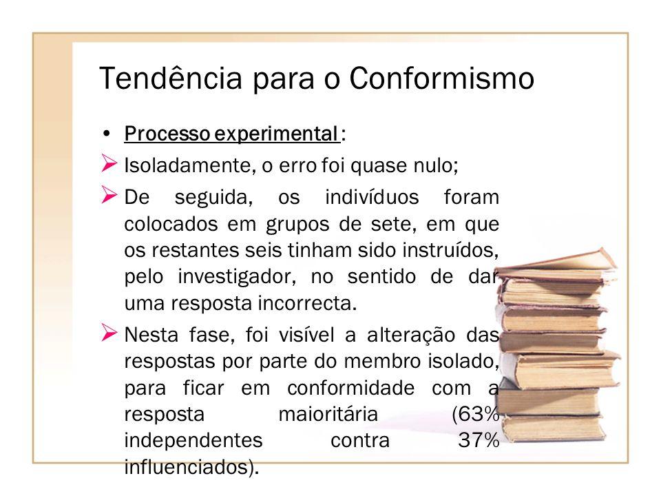 Tendência para o Conformismo