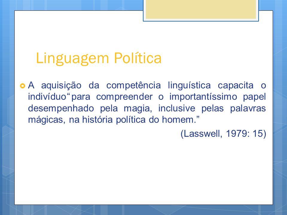Linguagem Política