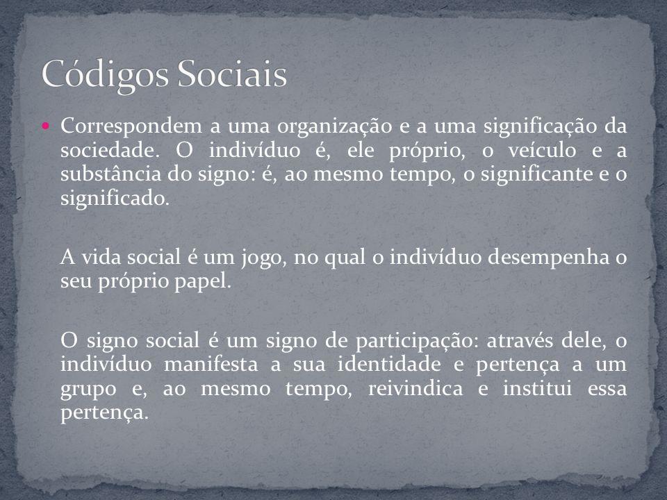 Códigos Sociais