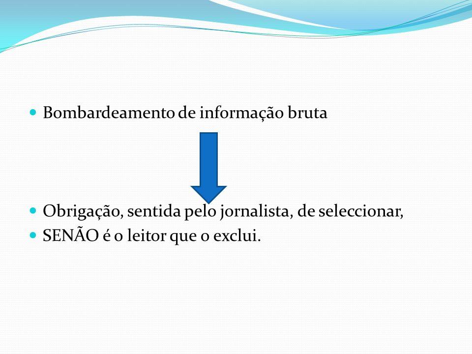 Bombardeamento de informação bruta