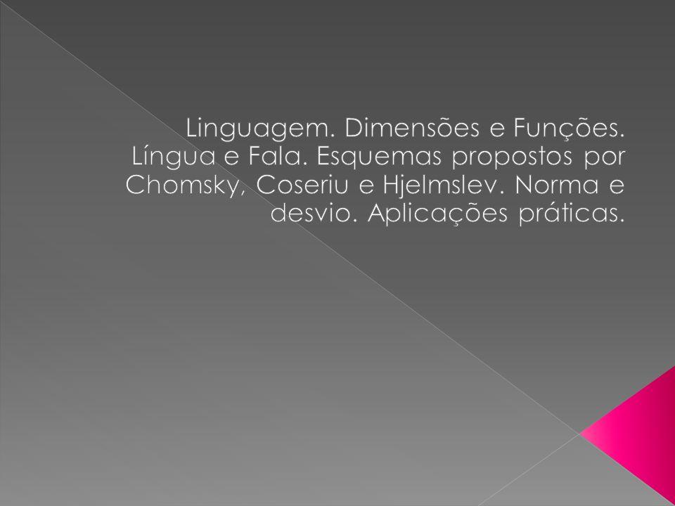 Linguagem. Dimensões e Funções.
