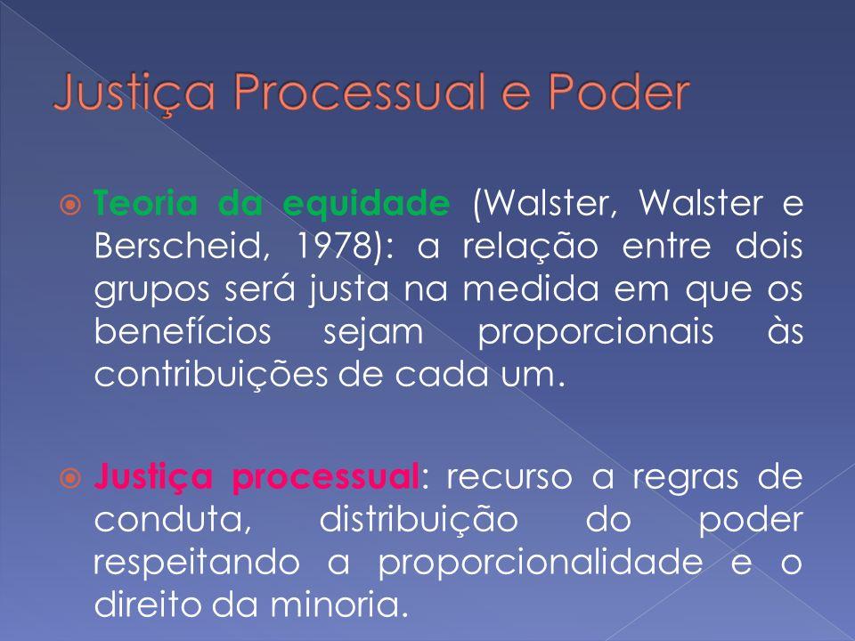 Justiça Processual e Poder