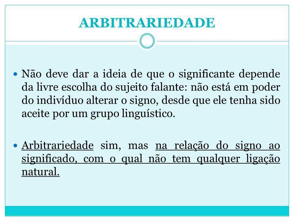 ARBITRARIEDADE