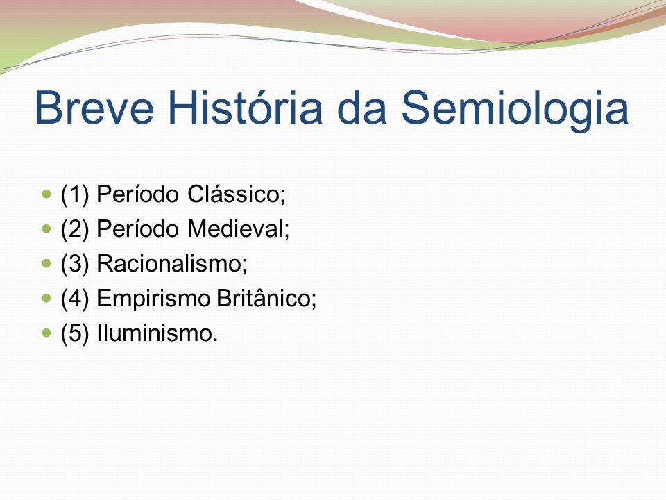 Breve História da Semiologia