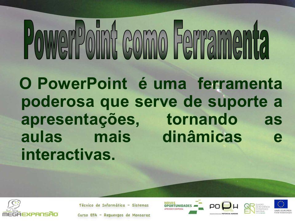 PowerPoint como Ferramenta
