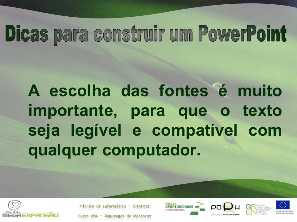 Dicas para construir um PowerPoint