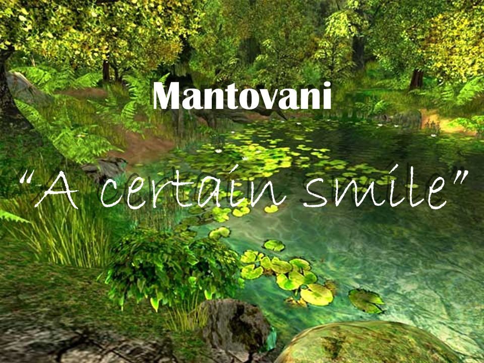 Mantovani A certain smile