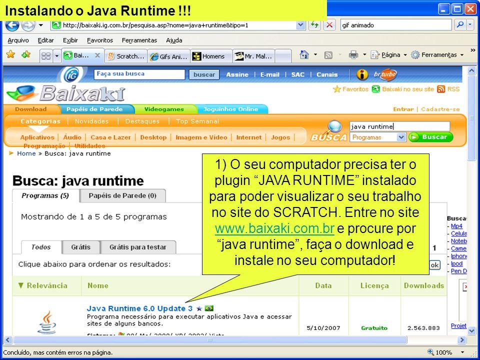 Instalando o Java Runtime !!!