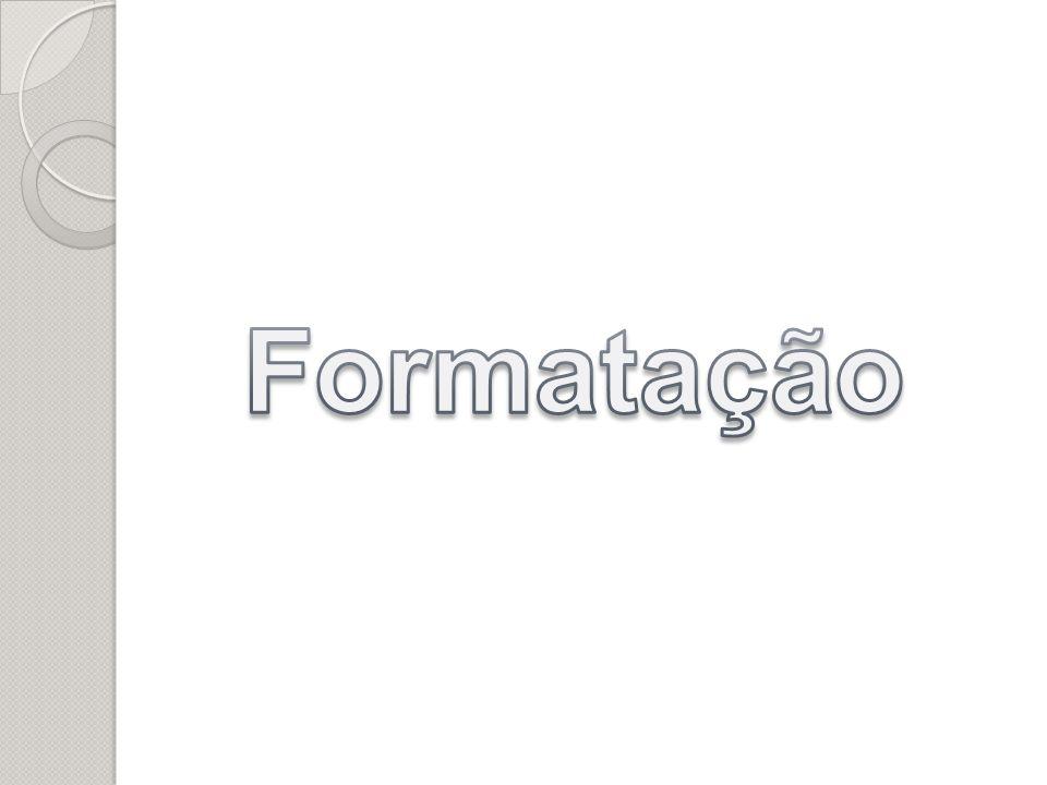 Formatação