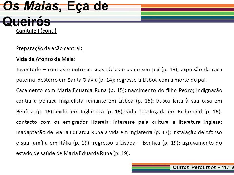 Os Maias, Eça de Queirós Capítulo I (cont.)