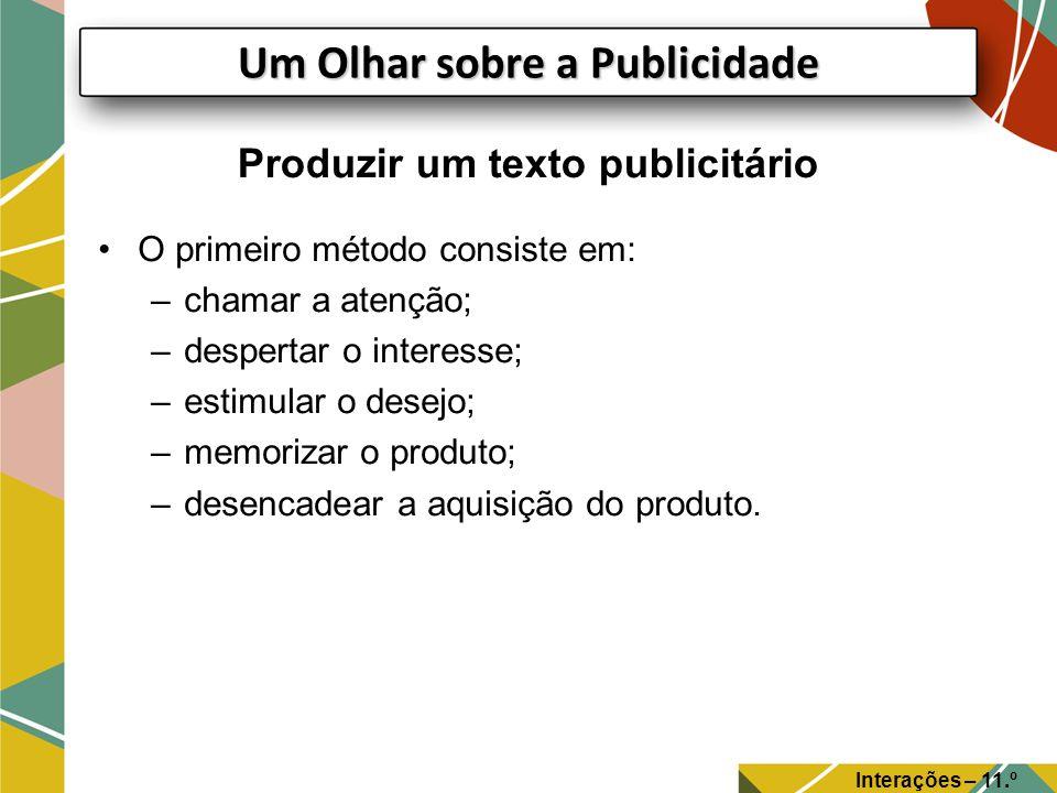Produzir um texto publicitário