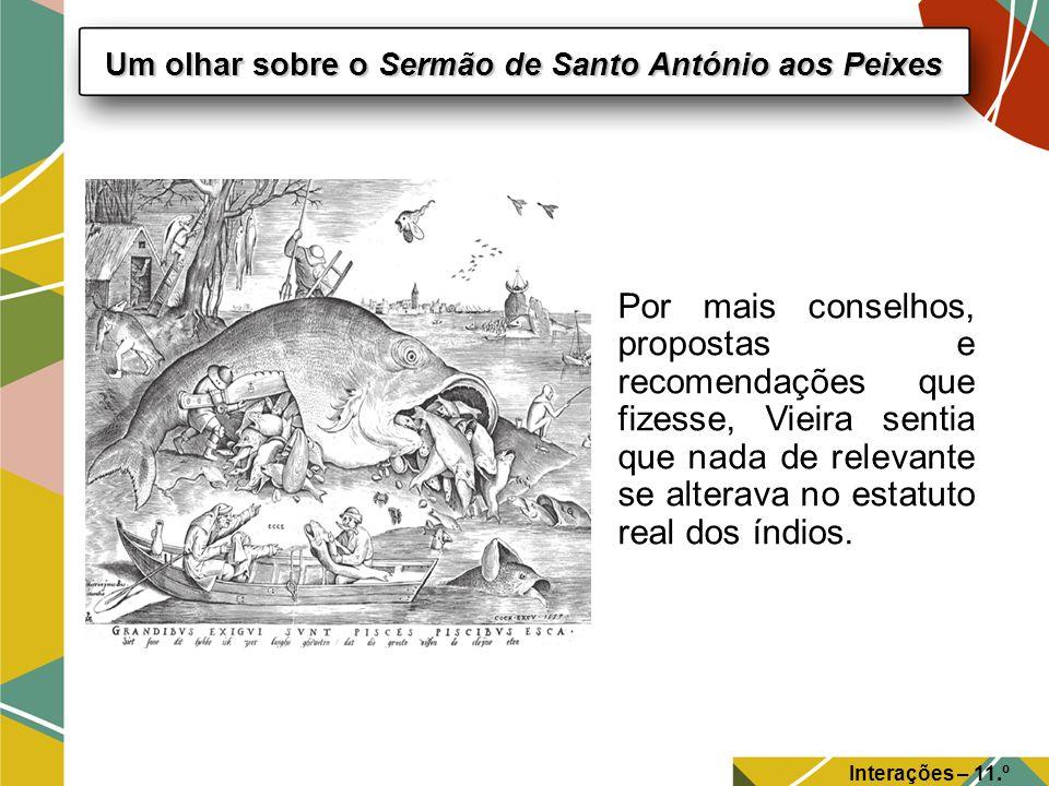 Um olhar sobre o Sermão de Santo António aos Peixes