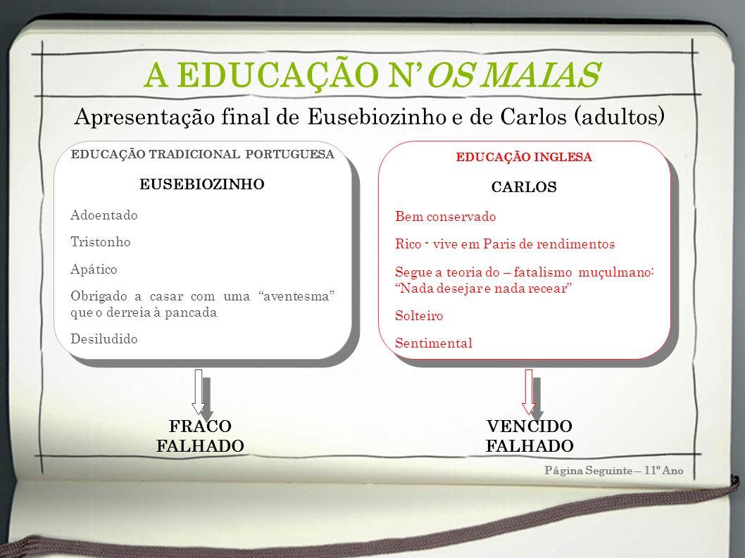 EDUCAÇÃO TRADICIONAL PORTUGUESA
