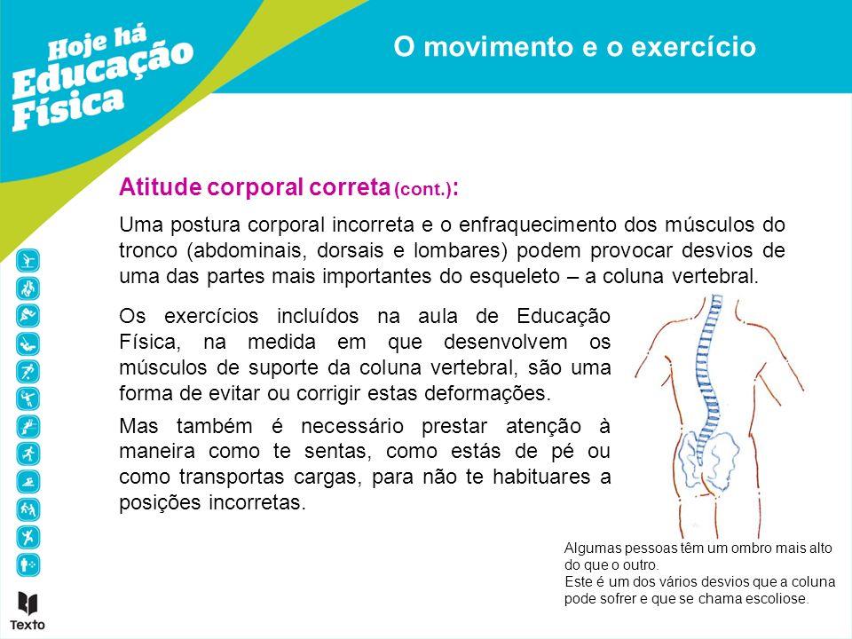 O movimento e o exercício