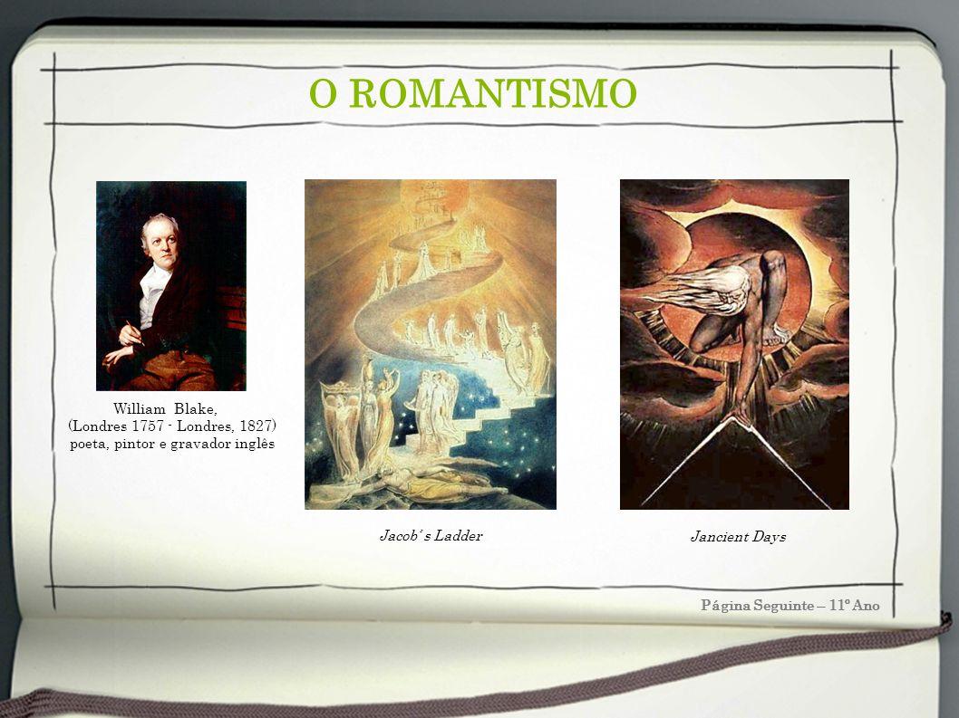 poeta, pintor e gravador inglês