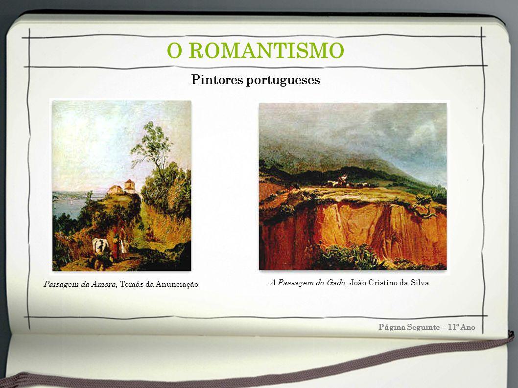 O ROMANTISMO Pintores portugueses