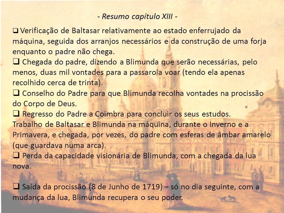 - Resumo capítulo XIII -