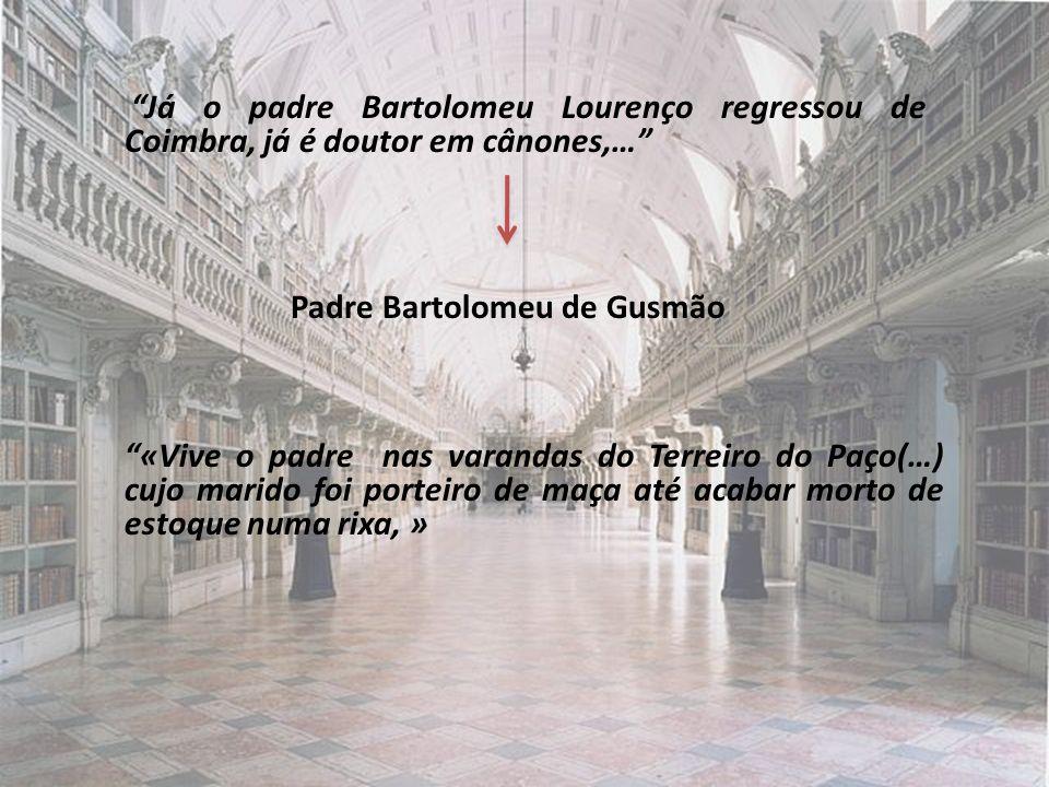Padre Bartolomeu de Gusmão