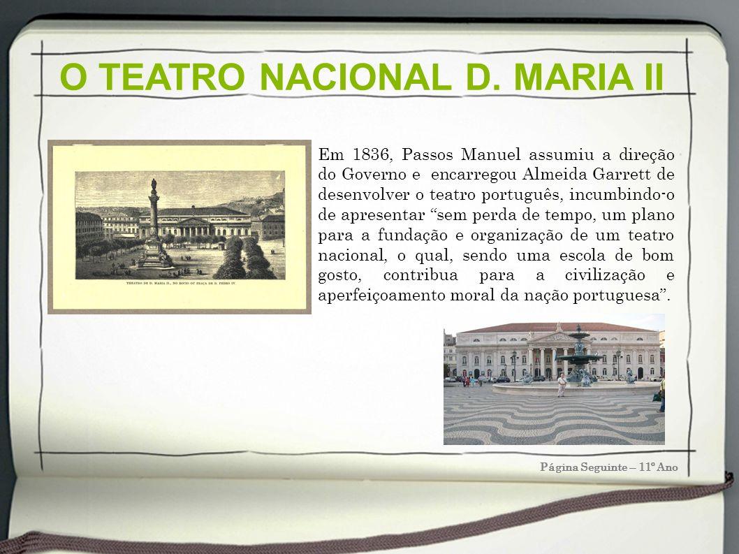O TEATRO NACIONAL D. MARIA II