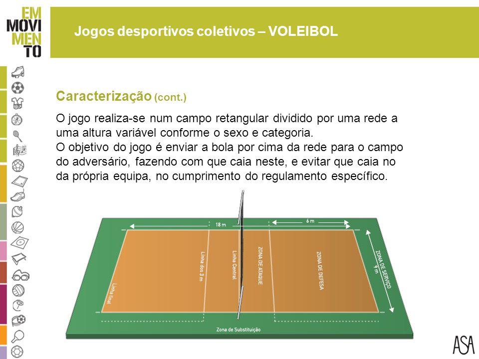 Jogos desportivos coletivos – VOLEIBOL