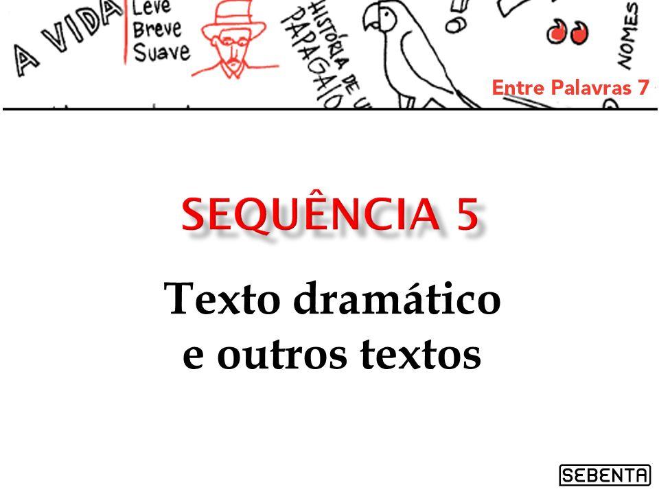 Texto dramático e outros textos