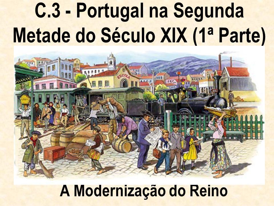 C.3 - Portugal na Segunda Metade do Século XIX (1ª Parte)