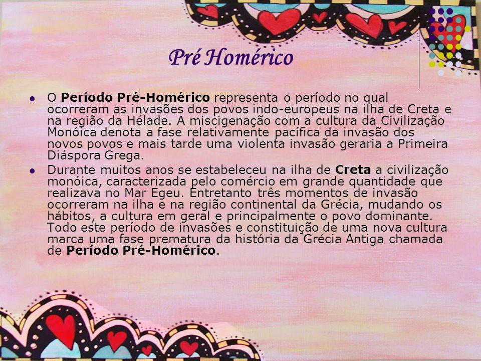 Pré Homérico