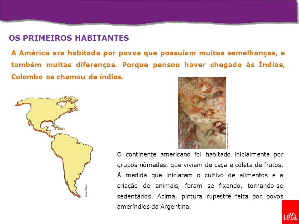OS PRIMEIROS HABITANTES