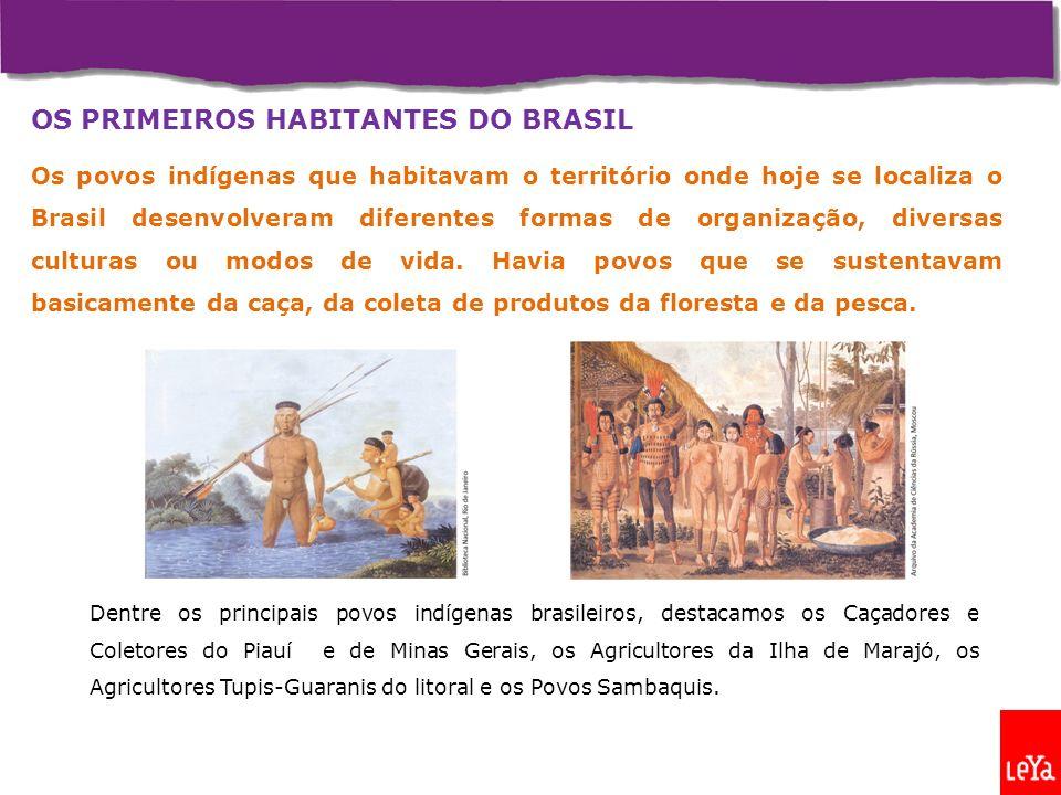 OS PRIMEIROS HABITANTES DO BRASIL