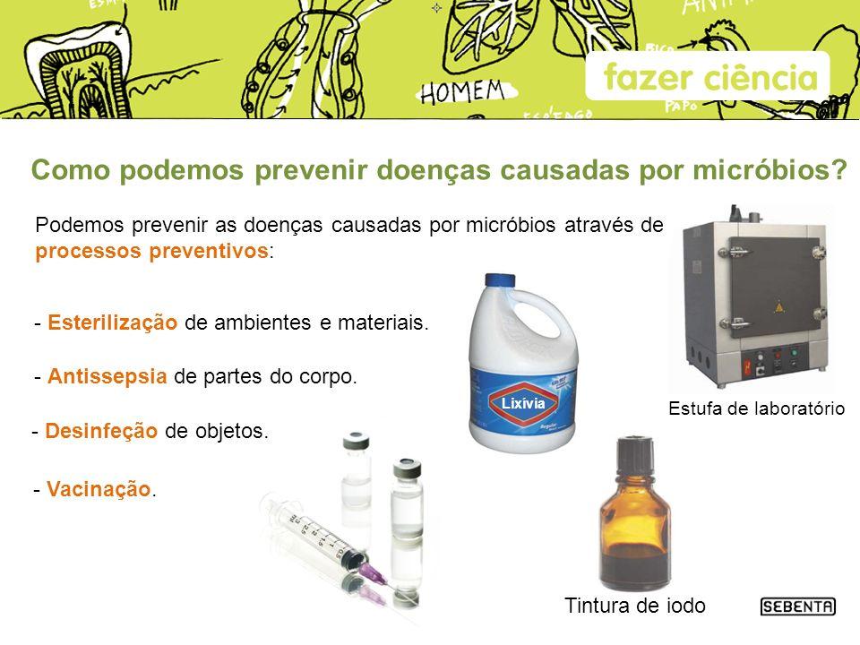 Como podemos prevenir doenças causadas por micróbios