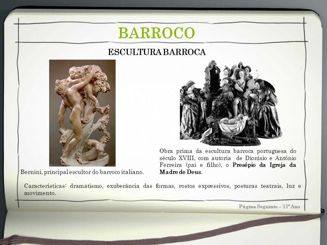 BARROCO ESCULTURA BARROCA
