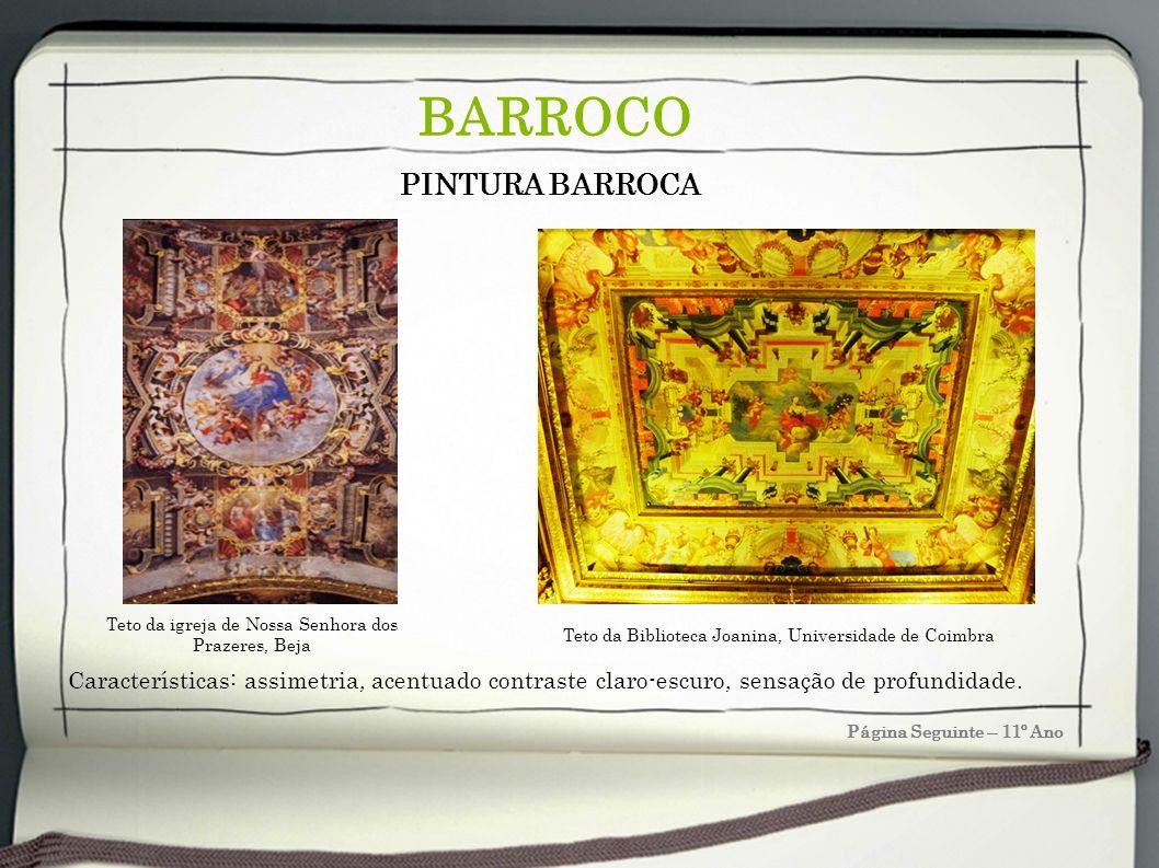 BARROCO PINTURA BARROCA