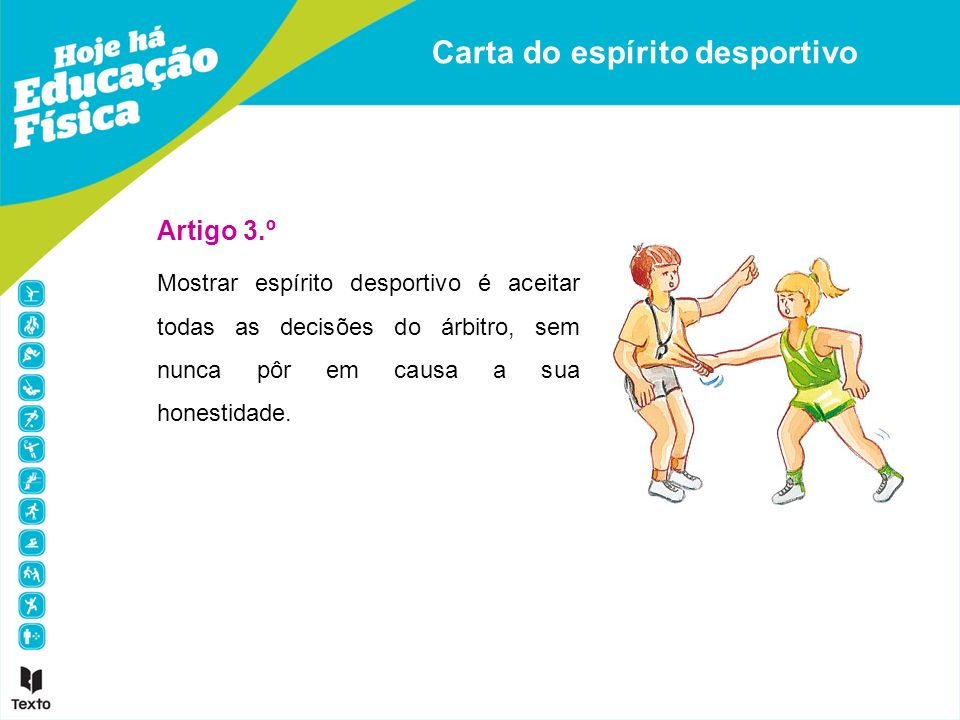 Carta do espírito desportivo