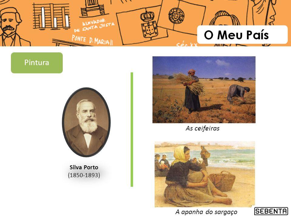Pintura As ceifeiras Silva Porto (1850-1893) A apanha do sargaço