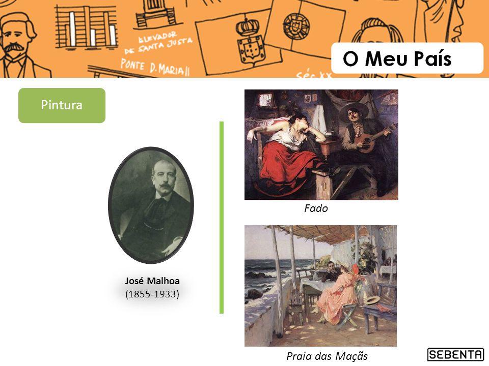 Pintura Fado José Malhoa (1855-1933) Praia das Maçãs