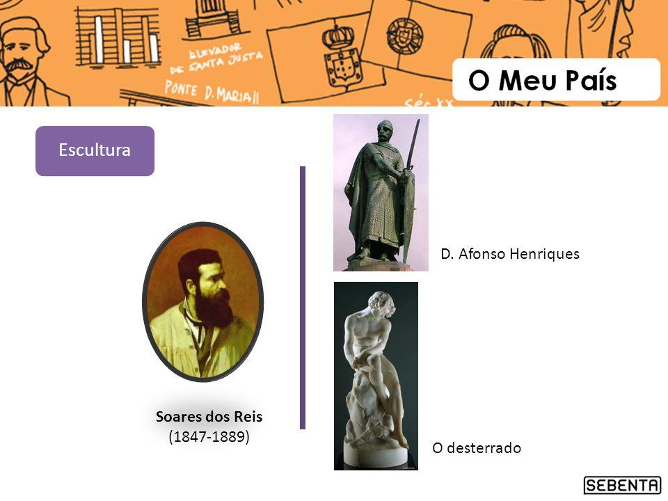 Escultura D. Afonso Henriques Soares dos Reis (1847-1889) O desterrado