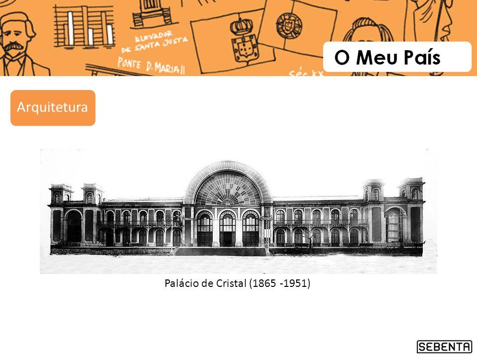 Arquitetura Palácio de Cristal (1865 -1951)