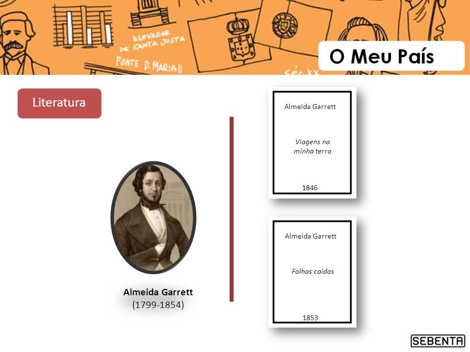 Literatura Almeida Garrett (1799-1854) Almeida Garrett Viagens na