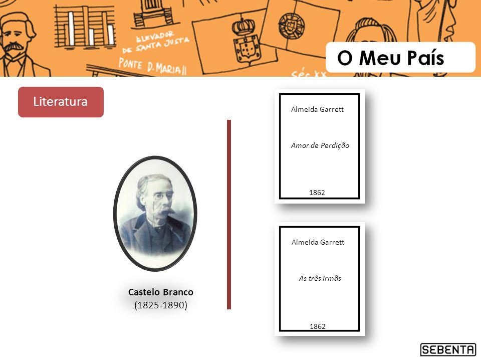 Literatura Castelo Branco (1825-1890) Almeida Garrett Amor de Perdição