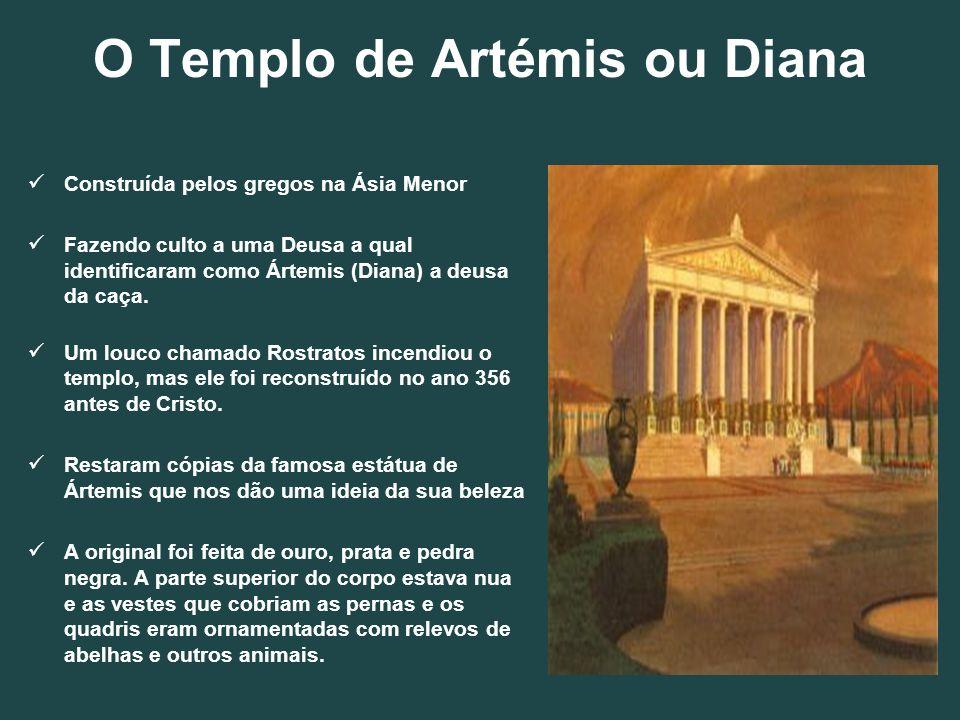 O Templo de Artémis ou Diana